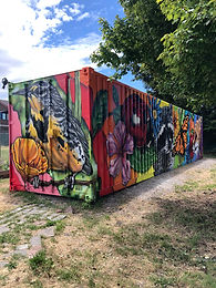 Storage Container Mural