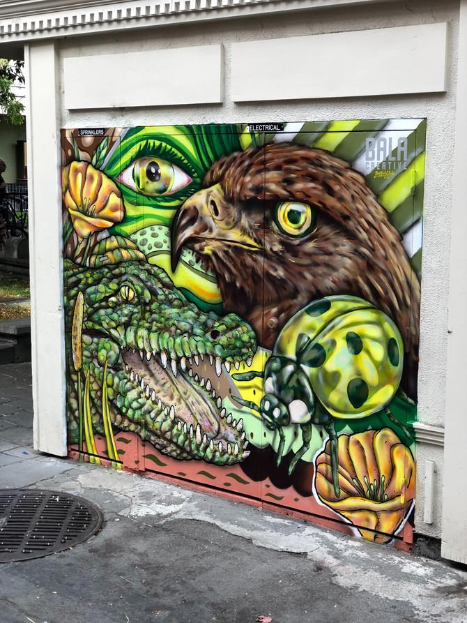 NewBay Area StreetArt Mural