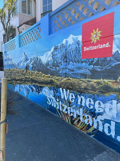 San Francisco Mural Advertising