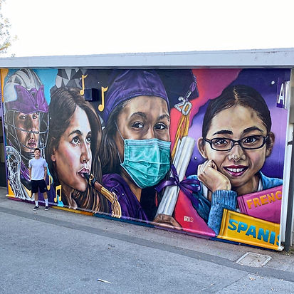 Petaluma High School Mural