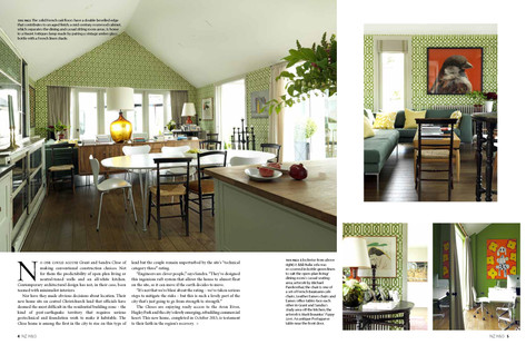 NZ HOUSE AND GARDEN, MAY 2015 PG. 3-4