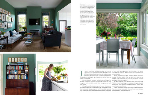 NZ HOUSE AND GARDEN, MAY 2018 PG. 3-4