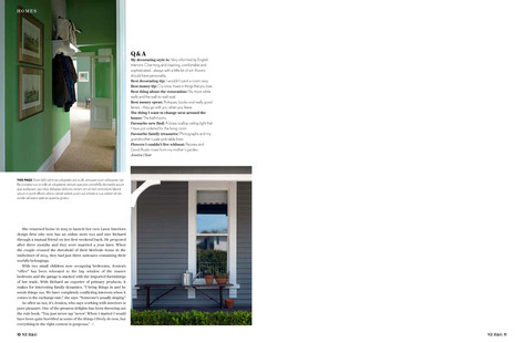 NZ HOUSE AND GARDEN, MAY 2018 PG. 9-10