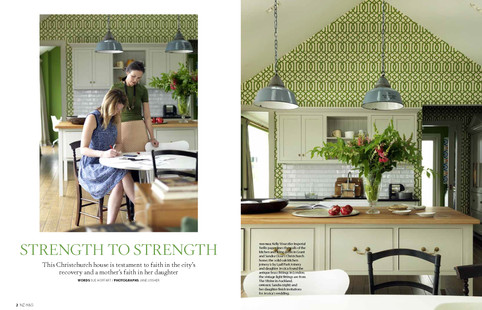 NZ HOUSE AND GARDEN, MAY 2015 PG. 1-2