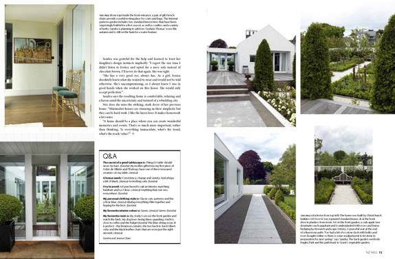NZ HOUSE AND GARDEN, MAY 2015 PG. 11-12