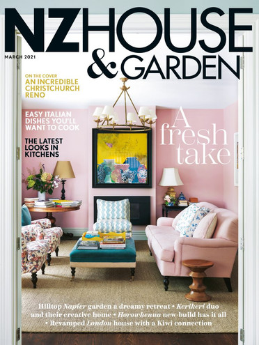 NZ House and Garden March 2021 Cover