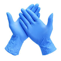 Disposable Nitrile Gloves on the ground