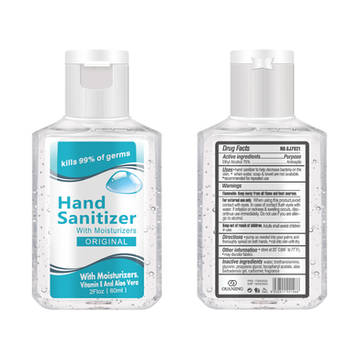 60ml / 2oz Hand Sanitizer