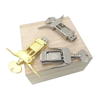 Corkscrew Flash Drive
