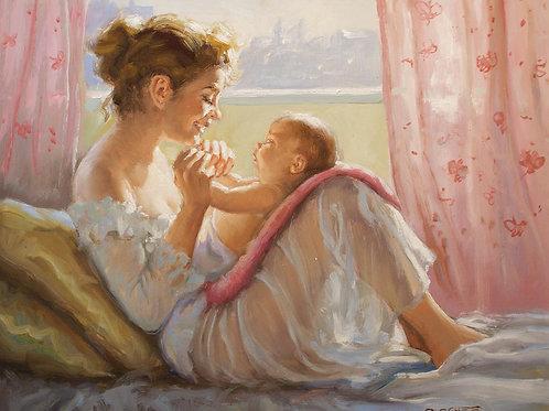 """Burguete """"Maternidad"""""""
