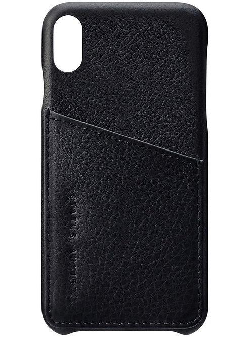 Black Hunter & Fox iPhone X Case