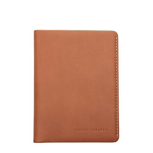 Tan Conquest Passport Wallet