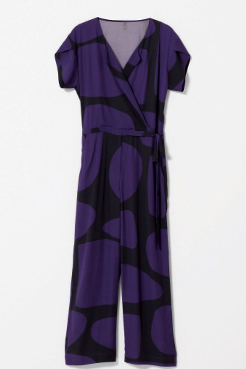 Black+Purple (model pic of pink+olive)  Boulder Jumpsuit