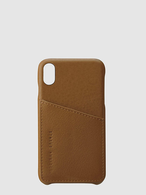 Tan Hunter & Fox iPhone X Case