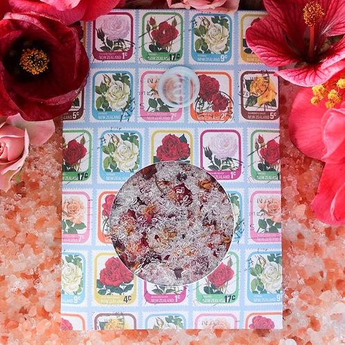 Rose Bath Salts Envelope