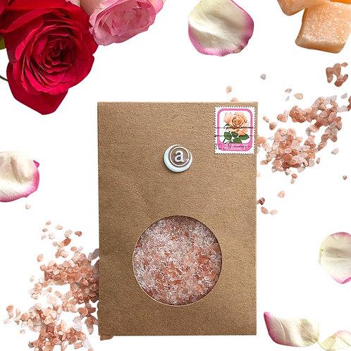 Pink Bath Salts Envelope