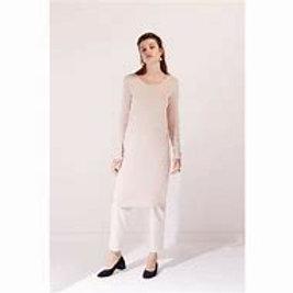 Blush Building Block Long Sleeve Dress
