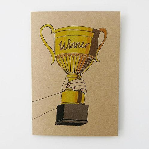 Greeting Card - Winner