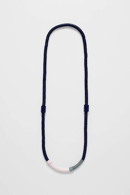 Navy Sanden Full Necklace