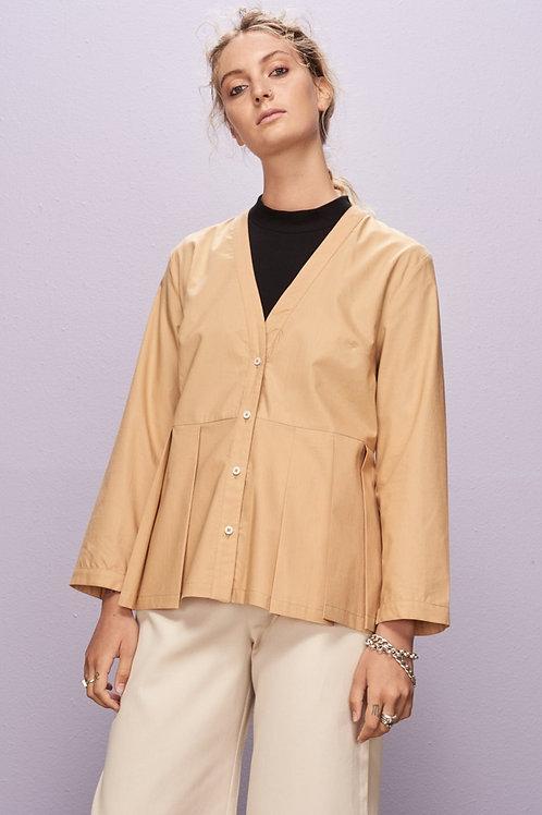 Tan Fold Out Shirt