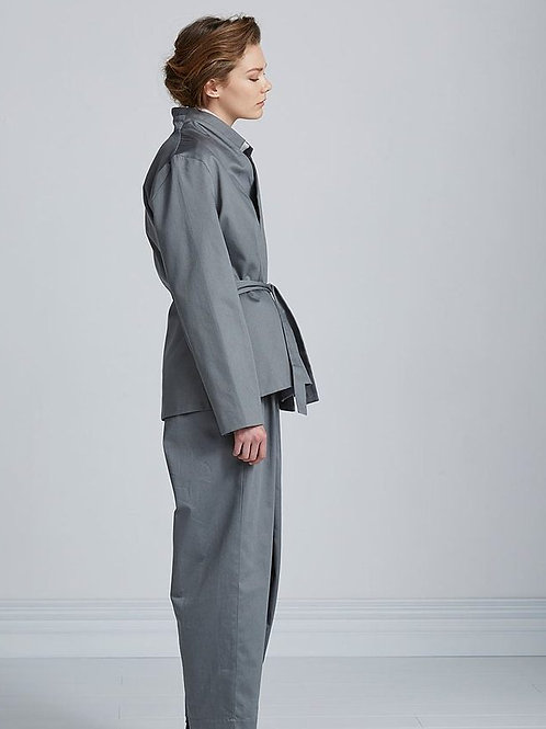 Dove Grey Notes and Clues Jacket