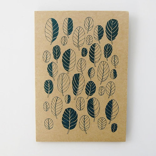 Greeting Card - Taupata Leaf