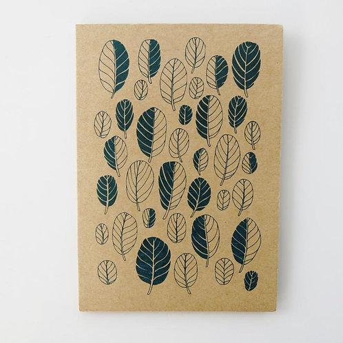 Greeting Card - Taupata Leaf