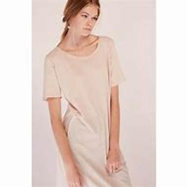 Blush Building Block Tee Shirt Dress