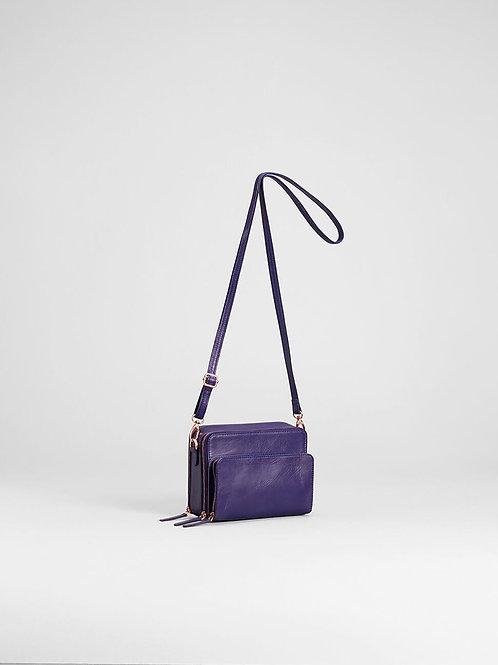 Iris Blue Bedarra Small Bag