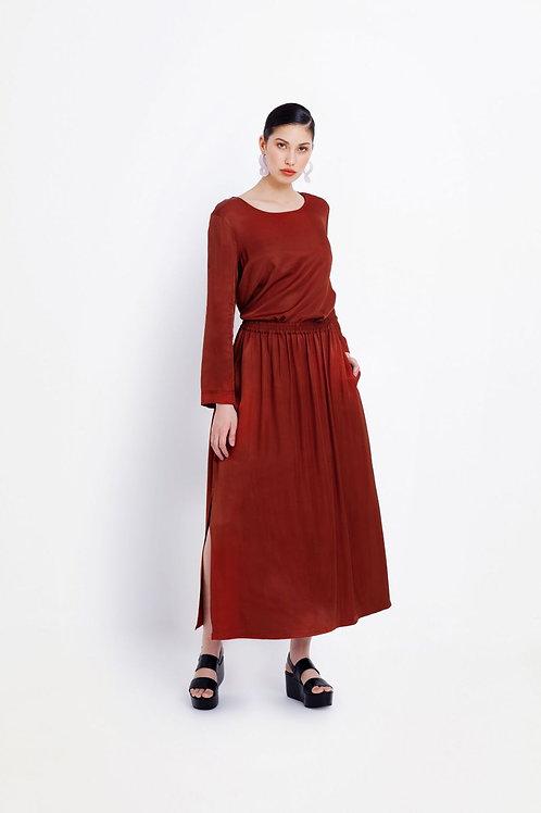 Copper Form Skirt