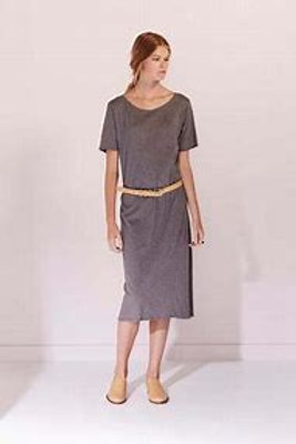 Dark Grey Marle Building Block Tee Shirt Dress