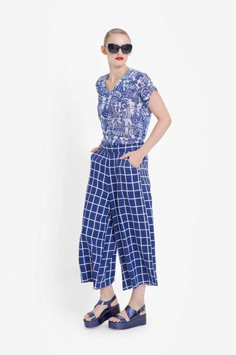 Blue+White Hopen Pants