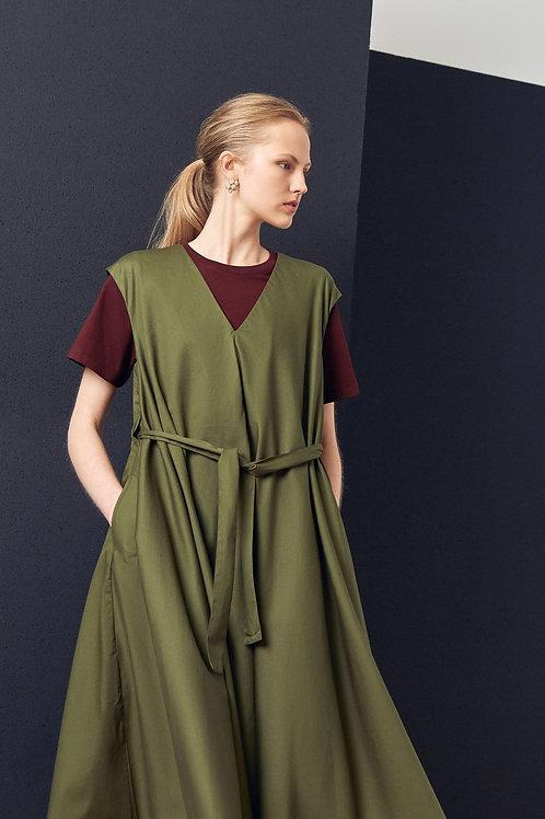 Moss Notebook Dress