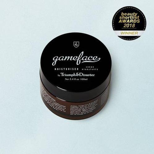 Gameface Moisturiser 100ml Jar