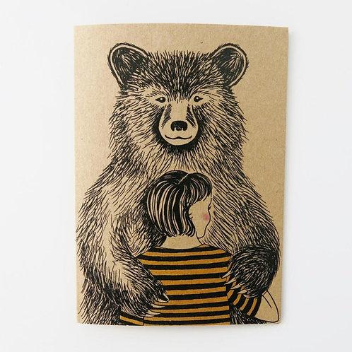 Greeting Card - Bear Hug