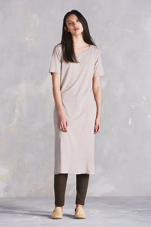 Oatmeal Building Block Tee Shirt Dress