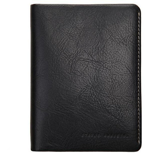 Black Conquest Passport Wallet