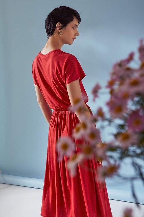 Poppy Building Block Short Sleeve Dancer Dress