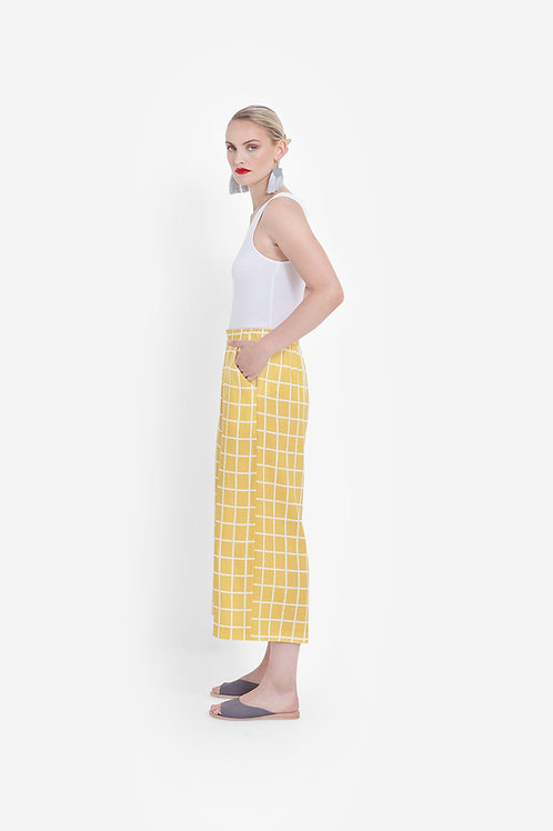Yellow+White Hopen Pants