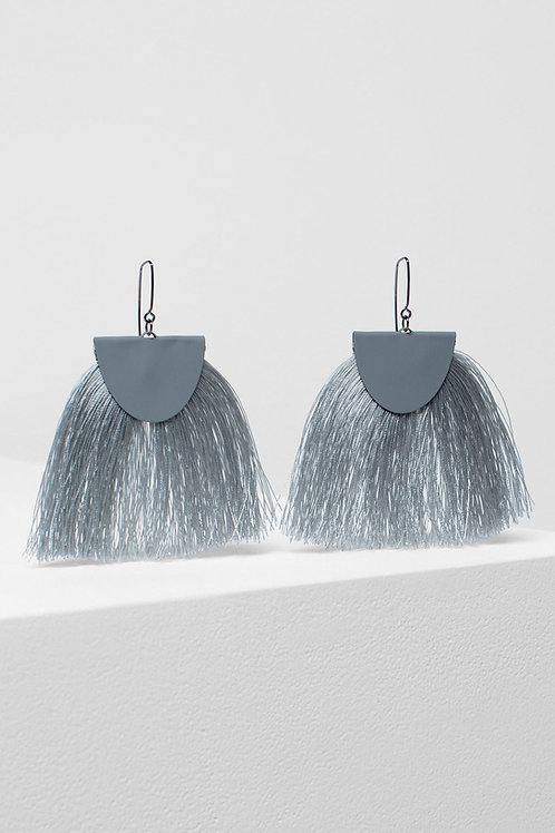 Silver Holm Earring