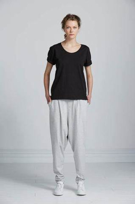 Grey Marle Building Block Low Crotch Pant
