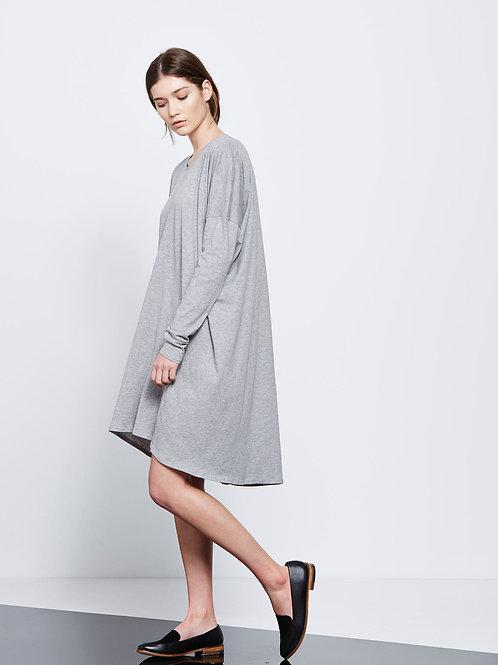 Light Grey Marle Building Block Swing Dress