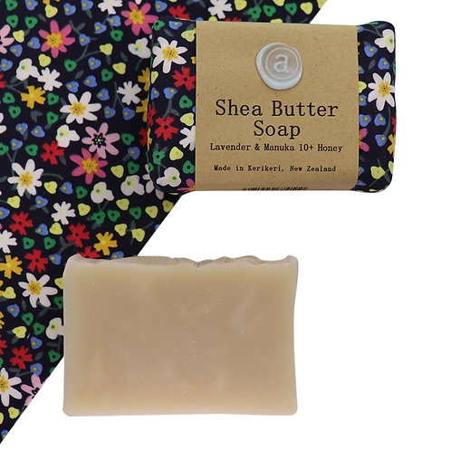 Shea Butter Soap – Forget Me Not