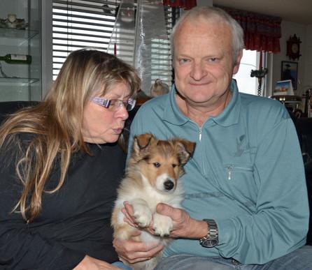 Beluga 10 Wochen mit ihre neue Familie