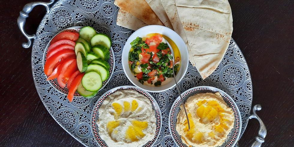 Arabische lunch met kinderprogramma