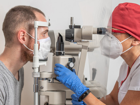 Coronovirus (COVID-19) can affect your eyes!