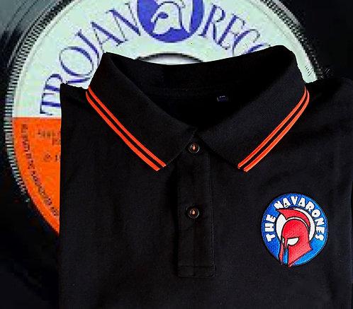 Navarones Mens Embroidered Polo