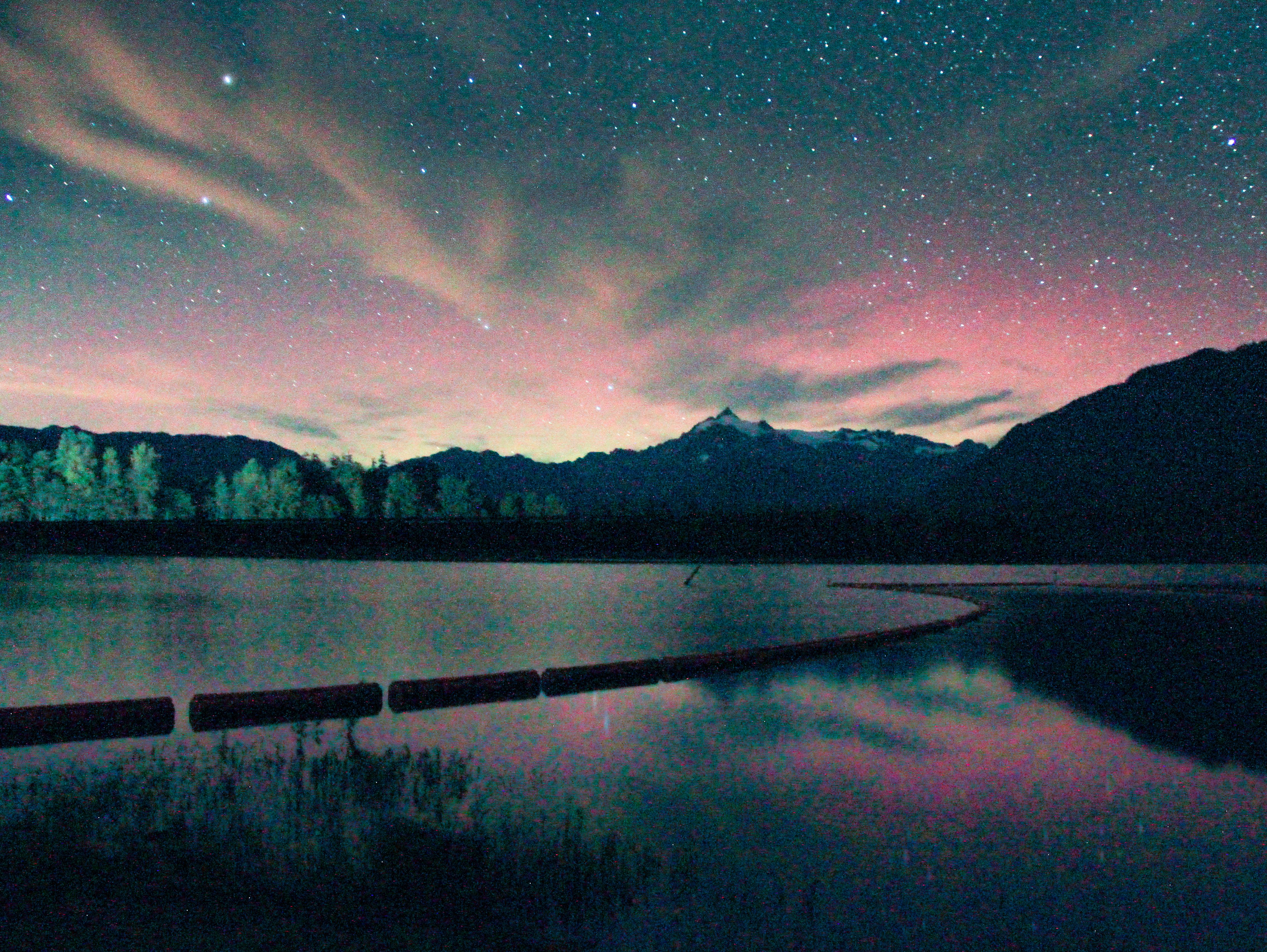 Baker Lake Auroras