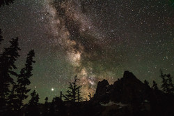 milky way and liberty bell
