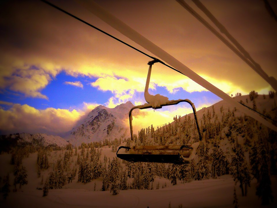 First Chair, Mt Baker Ski Area